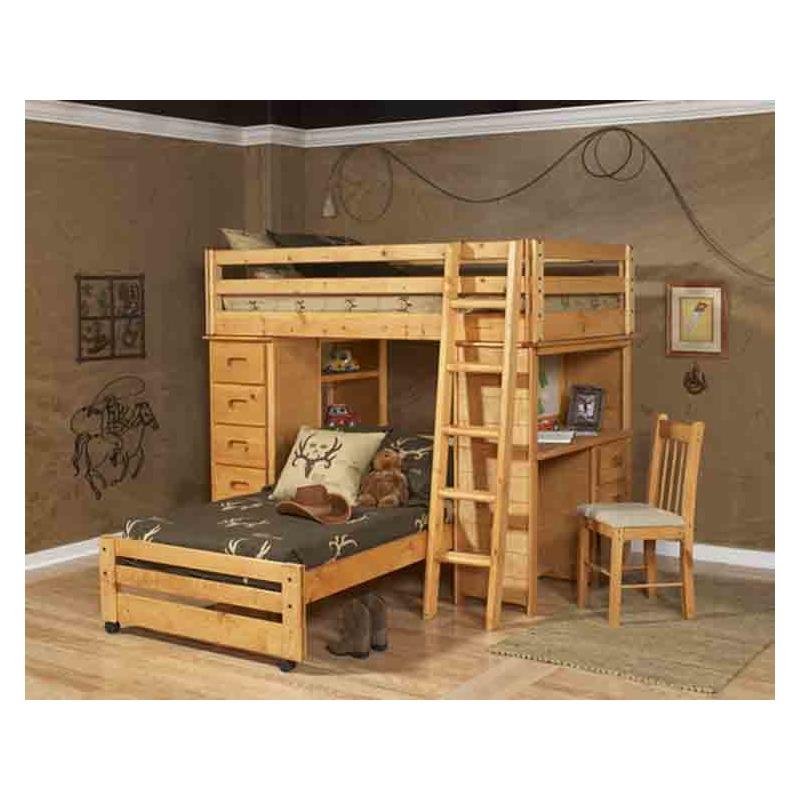 Caster Bed Frame