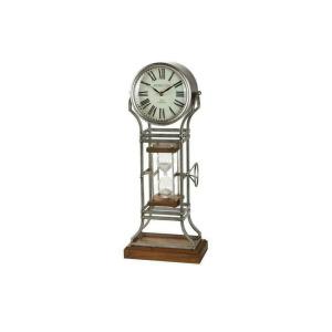 Grey Metal Clock