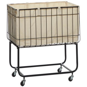 Metal & Fabric Storage Cart