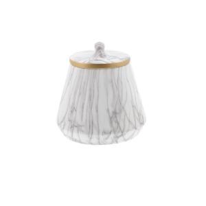Marble Oval Jar