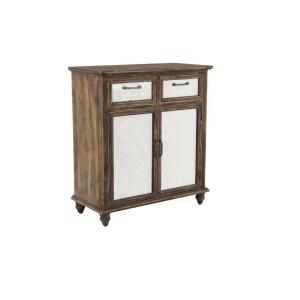 Wood Metal Enamel Cabinet