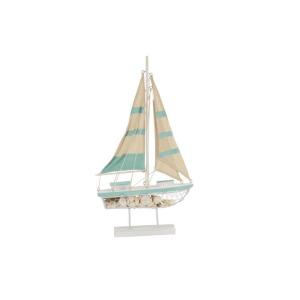 Wood Metal Sailing Boat