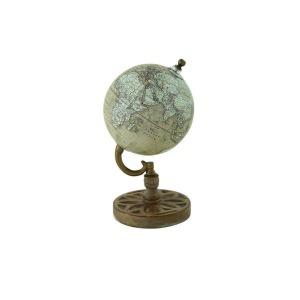 Wood Metal Globe