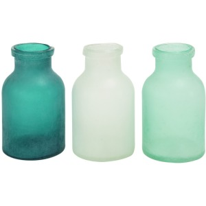 Glass vase (set of 3)