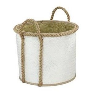 "Palm Leaf 15"" Basket - Medium"