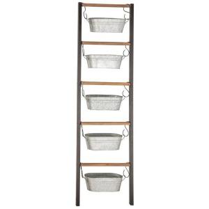 Wood Ladder Planters