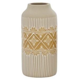 Ceramic Medium Vase - Beige