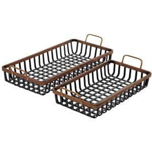 Bamboo Tray - Set of 2