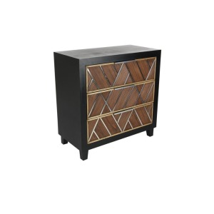 Wood Steel Chest
