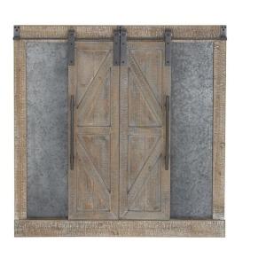 Wood Barn Door Wall Decor