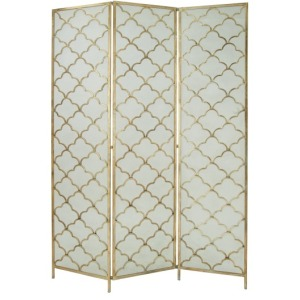 Metal Wire 3 Panel Screen