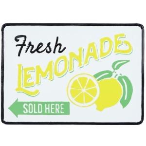 Metal Fresh Lemonade Wall Decor