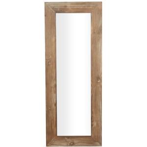Wood Dressing Mirror