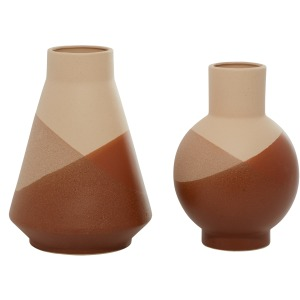 Ceramic Vase S/2