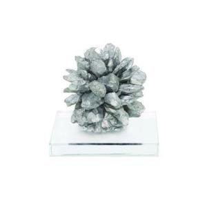 Quartz Silver Glass Gem