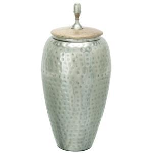 Metal & Wood Jar