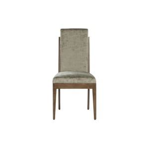 Wood Fabric Dining Chair