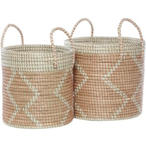 Seagrass Baskets - Set of 2