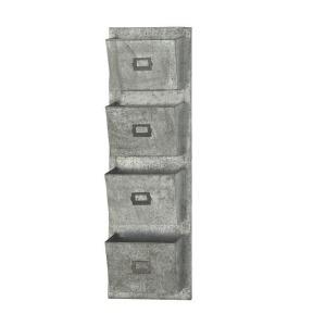 Metal Galvanized Wall Pocket