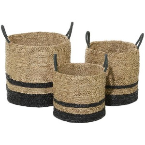 Seagrass Baskets - Set of 3