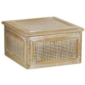 "Rattan Wood 8"" Box"
