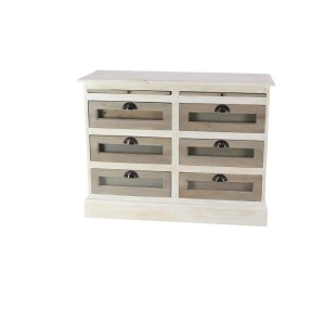 Wood Glass Chest