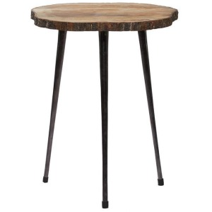 Bark Accent Table