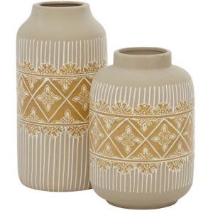 Ceramic Vases - Beige
