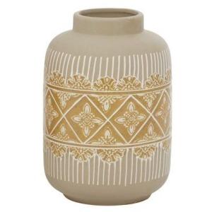 Ceramic Small Vase - Beige