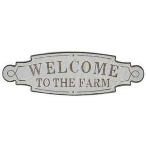 Metal Welcome to the Farm Wall Decor