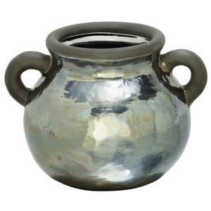 Ceramic Metallic Pot