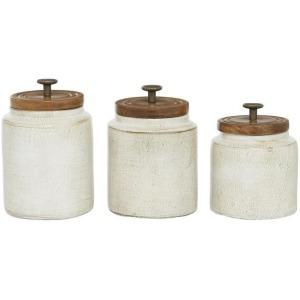 Terracotta Jar, S/3