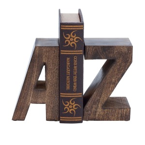 Wood Bookend