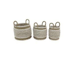 Plastic Baskets - Set of 3