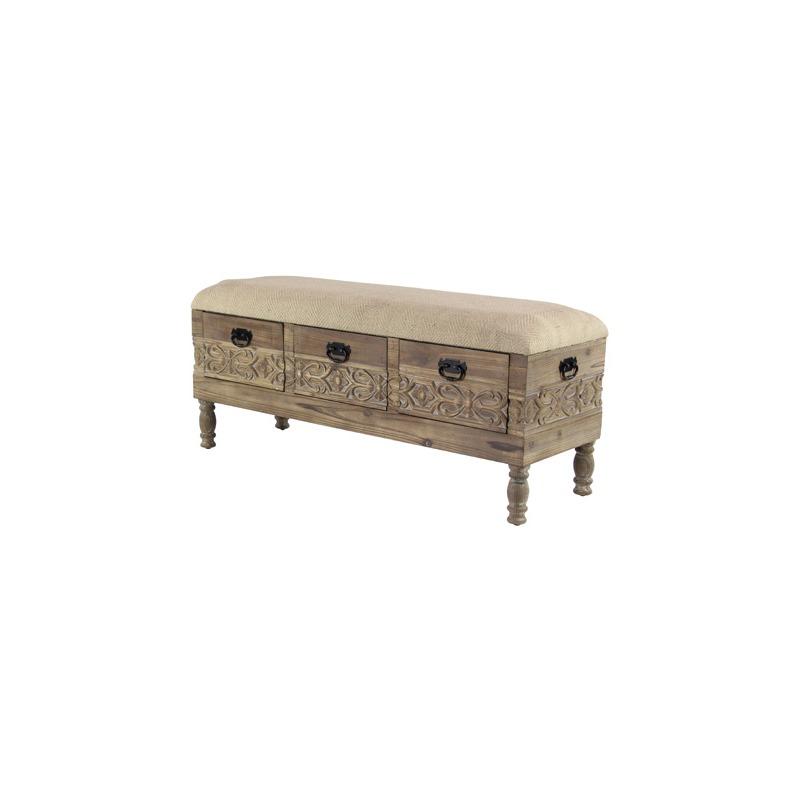 Awesome Wood Bench W Drawers By Uma Enterprise 42934 Missouri Ibusinesslaw Wood Chair Design Ideas Ibusinesslaworg