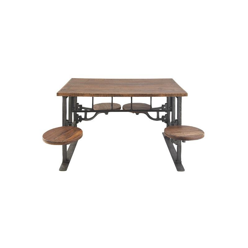 Amazing Metal Dining Table By Uma Enterprise 88580 Pierce Ibusinesslaw Wood Chair Design Ideas Ibusinesslaworg