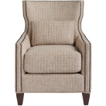 Barrister Accent Chair - Silo with a white background
