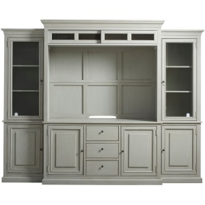 Summer Hill Home Entertainment Wall System - French Gray