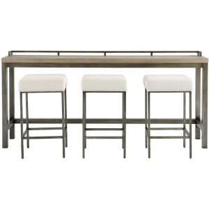 Mitchell Console Table w/3 Stools
