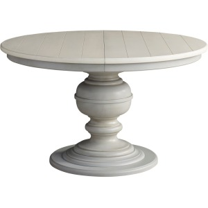 Summer Hill Round Dining Table - French Gray