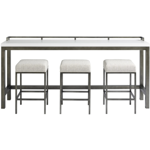 Curated Essence Console Table with Stools