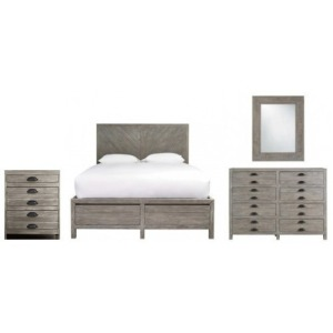 Curated 4 PC King Bedroom Set
