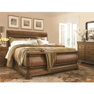 New Lou 3 PC King Sleigh Bedroom Set
