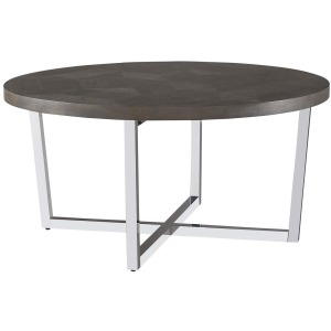 Curated Dorchester Round Cocktail Table