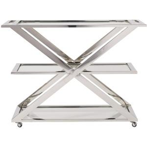 Modern Draper Bar Cart