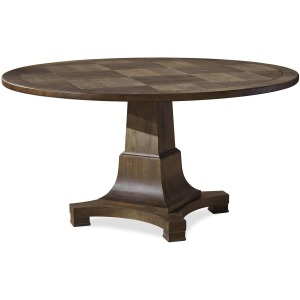 Playlist Round Dining Table