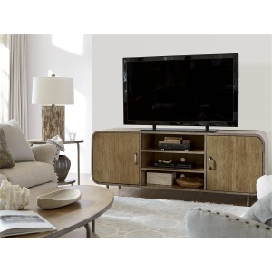 Curated Waterfall Media Console