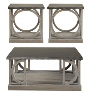 Carlton 3 PC Occasional Table Set