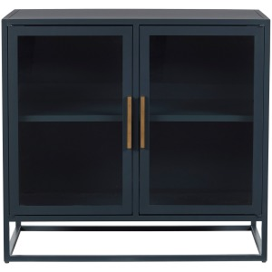 Getaway Santorini Short Metal Kitchen Cabinet