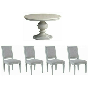 Summer Hill 5 PC Dining Set- French Gray